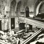 Zerstörte Synagoge MD